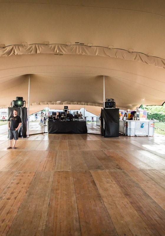 location tente stretch  - festival de musique